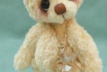 Artist teddy bears - Christmas Treasures 2012 -2014 / Artist teddy bears by jane Mogford of pipkins bears -Christmas bears 2012  -2014