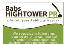 Babs Hightower PR / Virtual Assistant and all PR work.