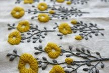 fabric: embellish/manipulate / fabric and textiles: embroidered, embellished, ruched, couched, beaded, pleated, printed, etc.