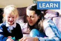 Kids Learning Activities / Learning is always better when it's fun! Check out our fun videos on creative activities you can do with your children that really help them to learn as well. You'll enjoy these as much as they do! Promise. Plus we've got some great Learn activities for mums too