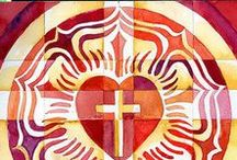 altar/banners/vestments