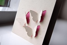 C is for Card/Invitation ideas / Montage of home made cards and invitiations / by Olivia Martin