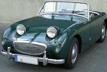 frogeyed sprite  & MGC / my first and second cars