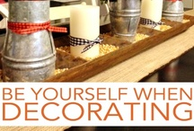 Decorating Tips / by lana marie