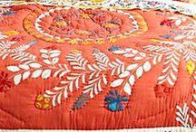 Textil, quilt.....