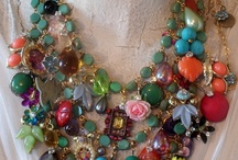 Beads and Necklace Baubles / by Rhonda Feather