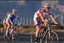 Tour De Palm Springs / Participants enjoy a bicycle ride through Palm Springs and on several different courses of various lengths all for a good cause. A portion of the entry fees and the pledges collected by the riders benefit local charities.  / by Vacation Palm Springs