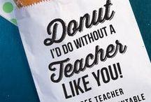 KIDS: Teacher Appreciation Week / Gift Ideas for Teachers. Teacher Appreciation Week ideas, end of year gifts for teachers, and holiday gifts for teachers