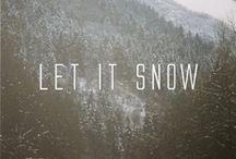 winter.  / by Alena Bearden