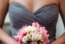 (Brides)MAIDS / bridesmaids dresses, colors, gifts, etc / by Jamie McCraren