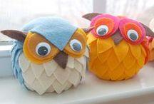 KIDS: Fun Fall Crafts / Easy, Fun Crafts Kids can Make for Fall