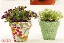 HOME: Dollar Store DIY / Do It Yourself Projects with items found at the Dollar Store. Frugal and Fabulous!