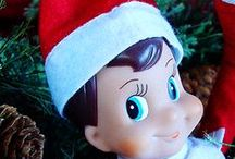 KIDS: Elf on the Shelf Ideas / Fun and silly ideas on where to place your Elf on the Shelf to count down the days til Christmas.