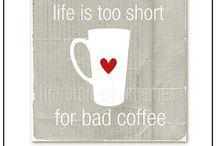 Coffee....my true love  / All things coffee... My truest addiction / by Jennifer Nemeth
