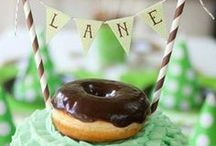 Retro Donut Themed Party