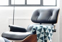 mid century modern style / soulful mid-century inspired living spaces