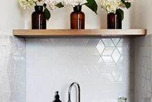 kitchen / clean, minimalist kitchen spaces