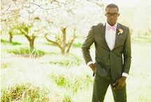 Stylish Grooms and Ushers / Let's hear it for the boys! Wedding fashion inspriation for the stylish groom and groomsmen Here at nubride.com I love a well turned out groom.