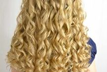 Hair - Curls / Gorgeous curly hair - natural or not - doesn't matter. So pretty! / by Becky @ {Babes in Hairland}