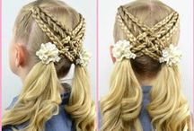 Hair - Little Girl Styles / #hairstyles for little girls  / by Becky @ {Babes in Hairland}
