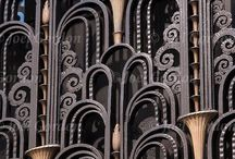 deco / art deco design from the jazz age