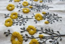 embroidery / amazing embroidered surfaces