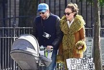 Celebrity Strollers / Celebrity strollers: Who pushed it best?