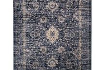 Interior Design| Rugs / Beautiful and stylish rugs for every room in your home:  Dining room, living room, kitchens, bathrooms, entry way/foyer, bedrooms, playrooms, and more