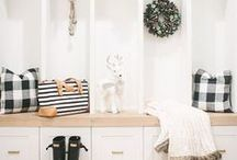 Interior Design| Mudrooms / Design ideas and tips to create the perfect, functional mudroom for your home.