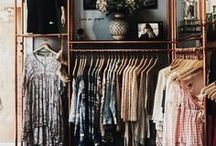 Interior Design| Closets / Beautiful and functional closet designs for your home:  closet organization, walk in closets, wardrobes, linen closets, plus closet storage ideas.