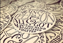 Typography and Handlettering / by Natalie Retief
