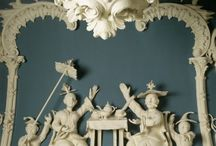 Interiors Chinoiserie Interiors 18th Century / Interiors furniture art decoratif etc.