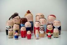 Nesting Dolls / Matryoshkus / non-traditional nesting dolls, with an emphasis on Geek and Popular Culture / by Karin Teder