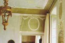 Interiors beginning 18th century