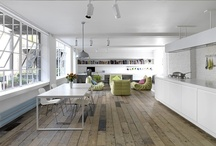 Warehouse and studio spaces / Inspiration for warehouse and studio living spaces