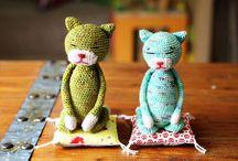 AMIGURUMI - Gatos / by La Reina Amigurumi