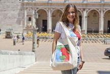 Spoleto56 - Merchandising / Magliette, bags, poster e tanto altro come souvenir della 56esima edizione del Festival dei 2Mondi / by Spoleto Festival dei 2Mondi