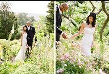 Garden Wedding Inspirations / floral, garden, cottage, backyard wedding ideas
