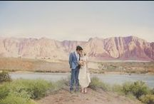 Mountain inspired wedding / Geology and mountains and rocks, oh my!