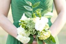 Green Wedding (the color green) / a lot of crossover probably for woodland wedding theme, but not all!