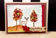 Stampin' Up! - Autumn Cards / All things Autumn