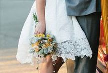 Short Wedding Dresses / not in to the long dress, try a short one!