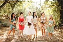 Bridesmaids / bridesmaid dresses, gifts, jewelry etc.