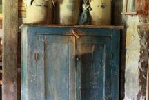 Inside. __Unfinished__Old /Vintage /Rustic__Shabby