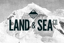 Land & Sea Co. / Inspiration for a branding collective. Launching Summer / Fall 2012 / by Ryan Linstrom
