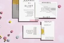 I N V I T E S / Invitation inspiration to set your party off on the right foot