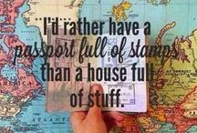 A Word About Travel / Because travel is what we love.