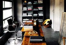 DESIGN : SoHo + Studios + Lofts / Small / Home Office - Interiors + Furniture / Products / Art + Studios / Lofts
