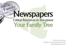Genealogy PowerPoints & PDFs / Genealogy PowerPoint presentations and printable PDFs to help you learn how to do family history research. Download these genealogy slideshows to discover how to trace your family tree. / by Genealogy Bank