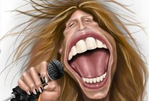 Celebrity Caricatures / by Stephanie Pinyan